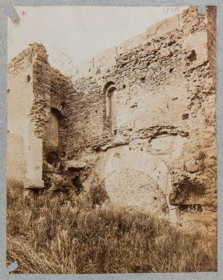 Porta Chiusa vista dall'interno di Castro Pretorio