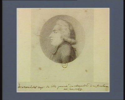M. de Carondelet député de Lille prévot du chapitre de Séclin : [dessin]