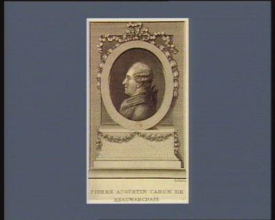 Pierre Augustin Caron de Beaumarchais [estampe]