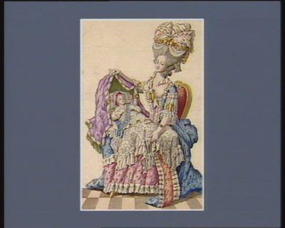 [Portrait de Marie-Antoinette et du Dauphin] [estampe]