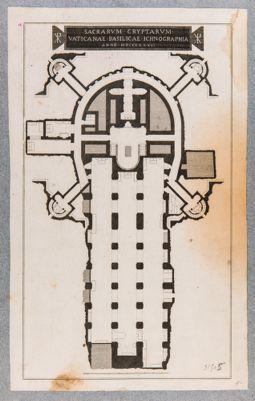 Sacrarum Cryptarum Vaticanae basilicae Ichnographia