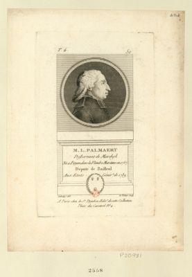 M.L. Palmaert desservant de Mardyle ne a Petyan dans la Flandre Maritime en 1757 député de Bailleul aux Etats génér.x de 1789 : [estampe]