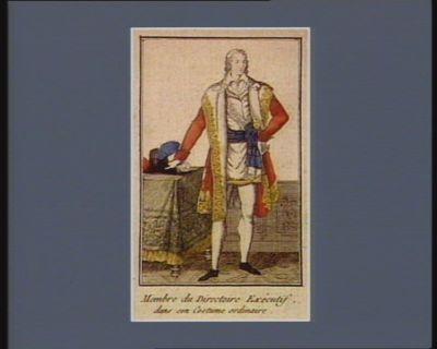Membre du Directoire dans son costume ordinaire [estampe]