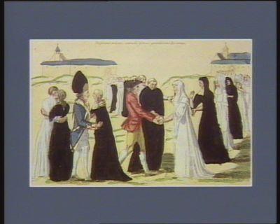Le  Tiers état mariant les religieux avec les religieuses en faisant ste bonne action là je nous garentissons des cornes : [estampe]