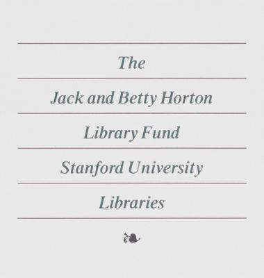 Jack and Betty Horton Library Fund