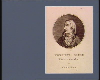 Monsieur Sauce Kaarse-maker te Varenne : [estampe]