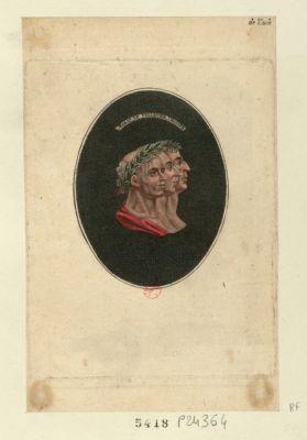Marat, Le Peletier, Chalier [estampe]